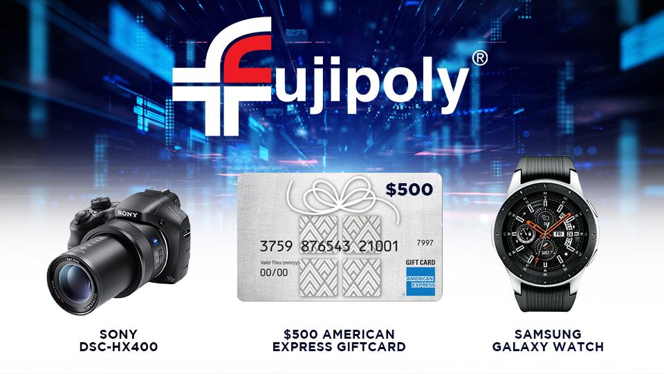 Fujipoly Giveaway